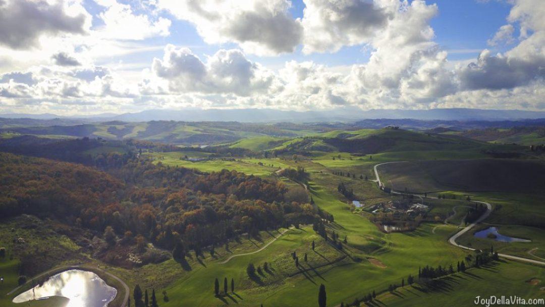 Landscape Photo DJI Mavic Pro Castelfalfi Italy JoyDellaVita