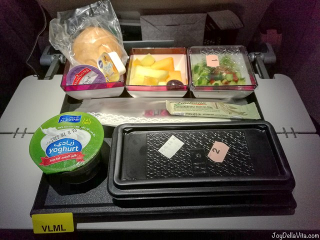 Qatar Airways Ovo-Lacto Vegetarian Meal - Special Request