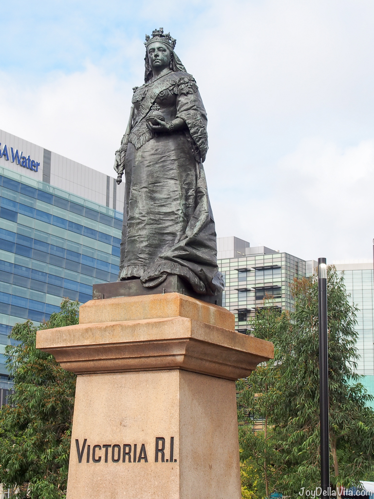 Queen Victoria Statue in Adelaide