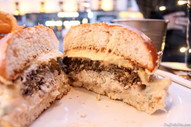 Bread Meats Bread Edinburgh Falafel Burger JoyDellaVita