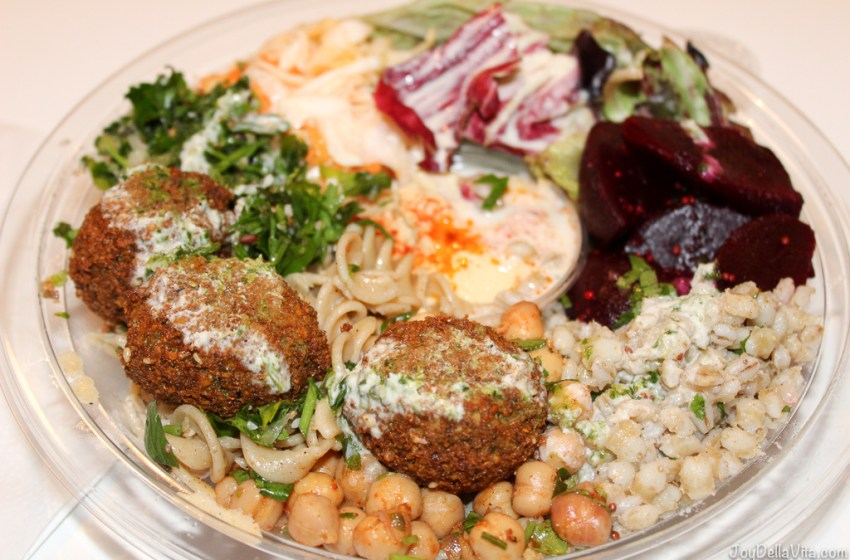 Salad Box with Falafel by GoFalafel Manchester