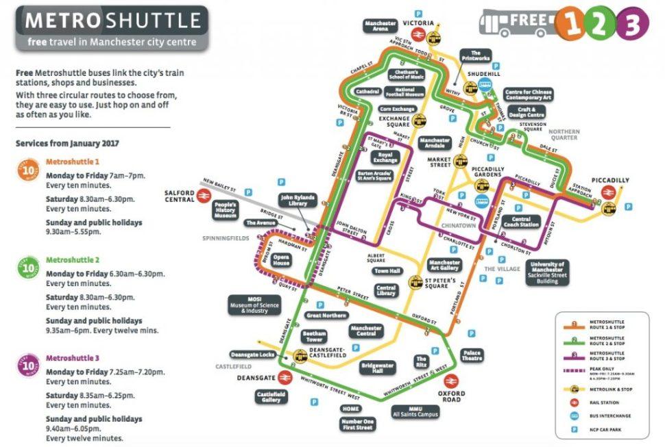 Metroshuttle_Manchester_2017_Map