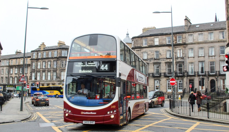 Public Transport in Edinburgh Scotland JoyDellaVita