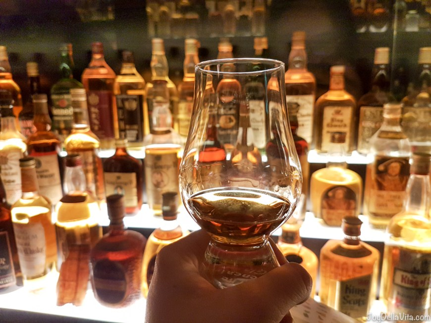 Whisky Tasting during Scotch Whisky Experience Edinburgh