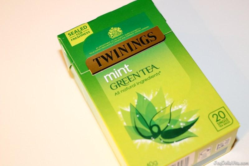 Twinings Mint Green Tea UK Supermarket Haul JoyDellaVita