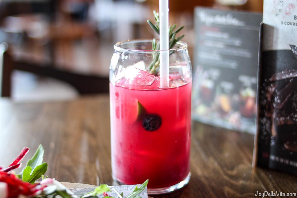 Verry Berry Burst Drink Zizzi Edinburgh JoyDellaVita