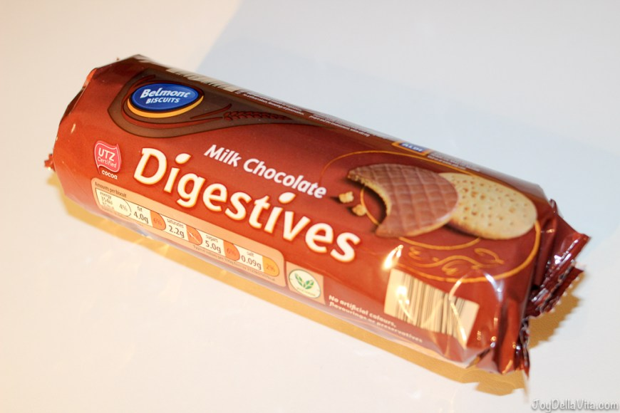 Milk Chocolate Digestives UK Supermarket Haul JoyDellaVita