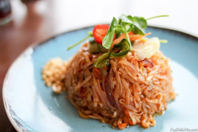 TOFU PAD THAI NOODLE  Chaophraya Thai Restaurant Edinburgh JoyDellaVita
