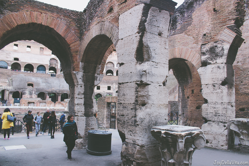 Colosseum Rome Winter Season JoyDellaVita