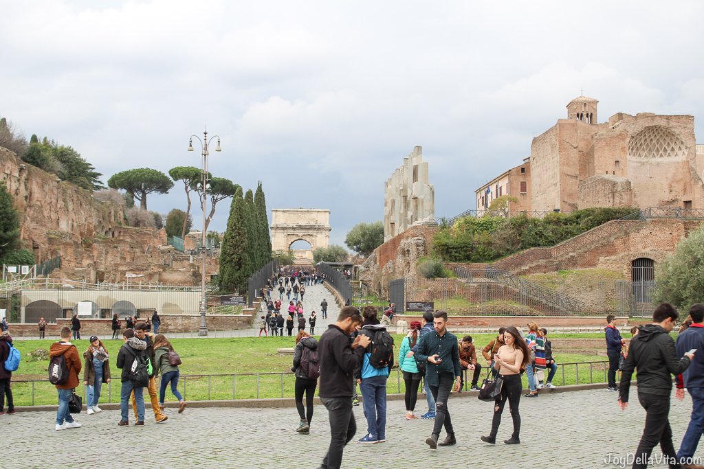 Forum Romanum Rom Travel Blog JoyDellaVita