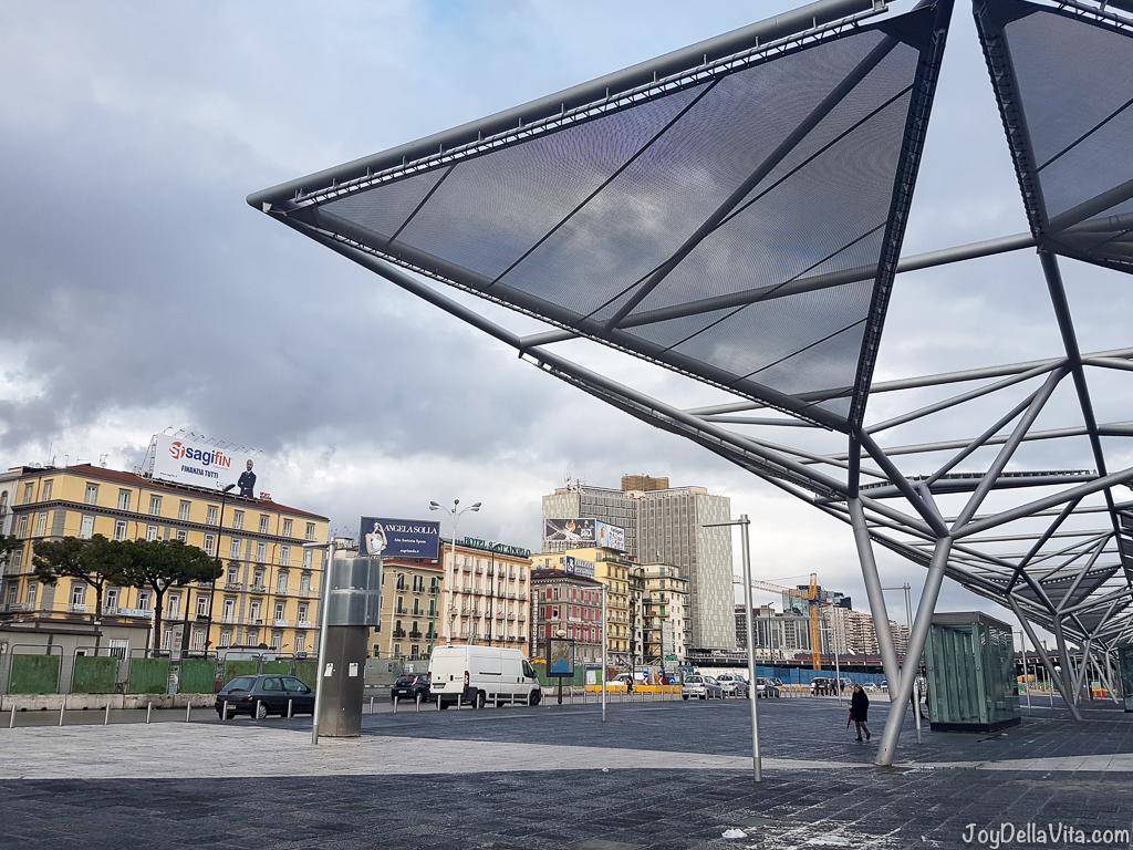 Galleria Piazza Garibaldi Naples Smartphone Sightseeing Walk JoyDellaVita