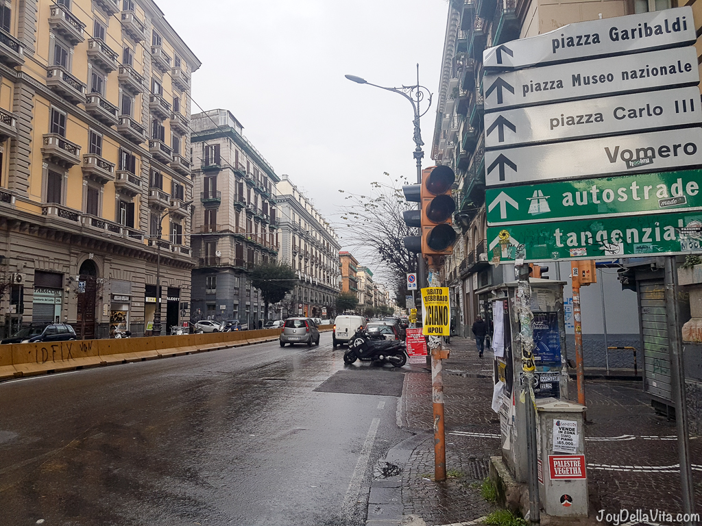 Corso Umberto I Naples Smartphone Sightseeing Walk JoyDellaVita