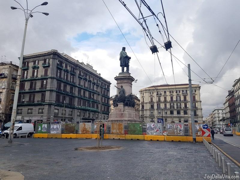 Piazza Mancini Naples Smartphone Sightseeing Walk JoyDellaVita