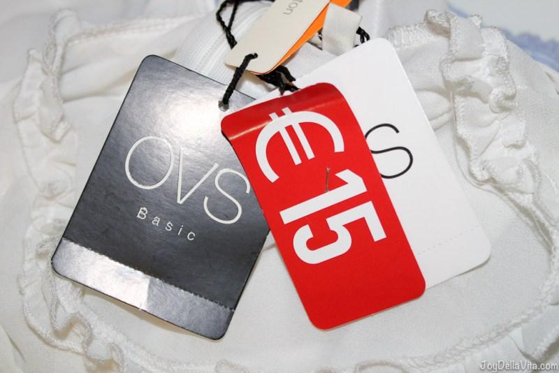 Shopping at OVS JoyDellaVita