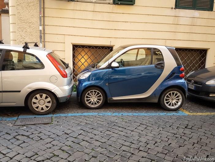 smart fortwo Vespa small Cars Rome joyDellaVita