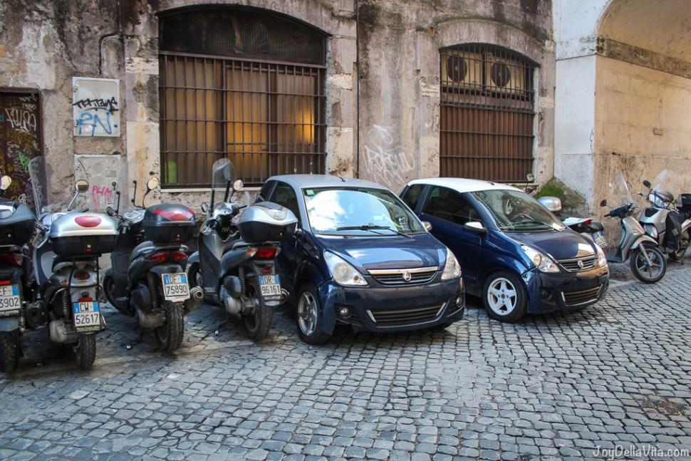 Scooters and Aixam in Rome joyDellaVita