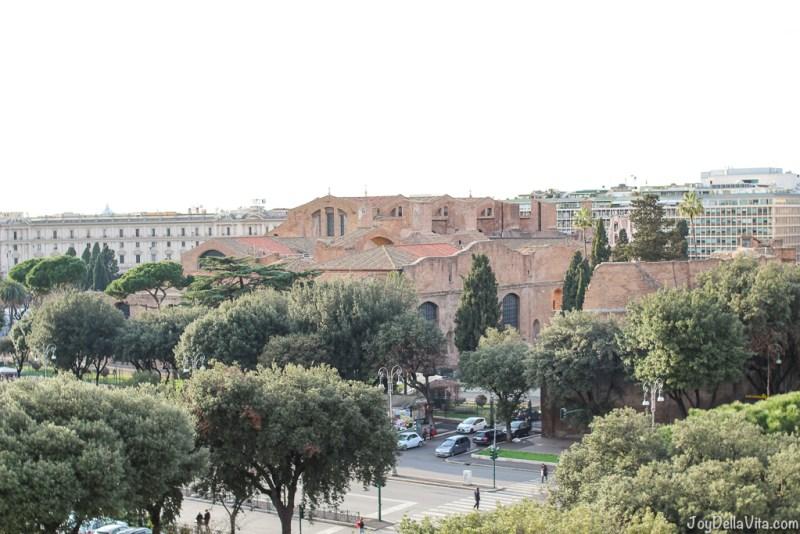Santa Maria degli Angeli e dei Martiri nh Collection Hotel Cinquecento Rome JoyDellaVita