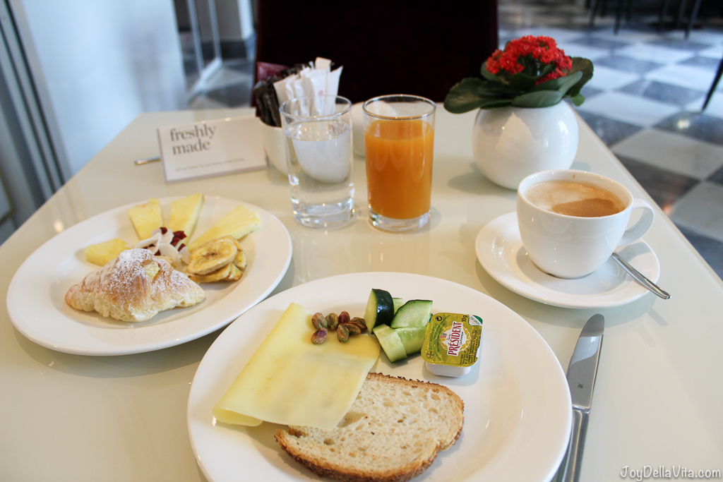 Breakfast at nh Collection Hotel Cinquecento Rome