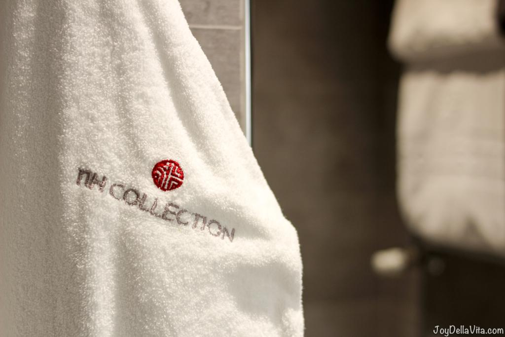Bathrobe nh Collection Hotel Cinquecento Rome JoyDellaVita