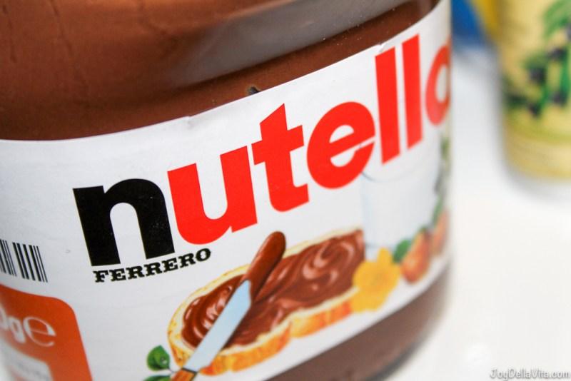 nutella Ferrero JoyDellaVita