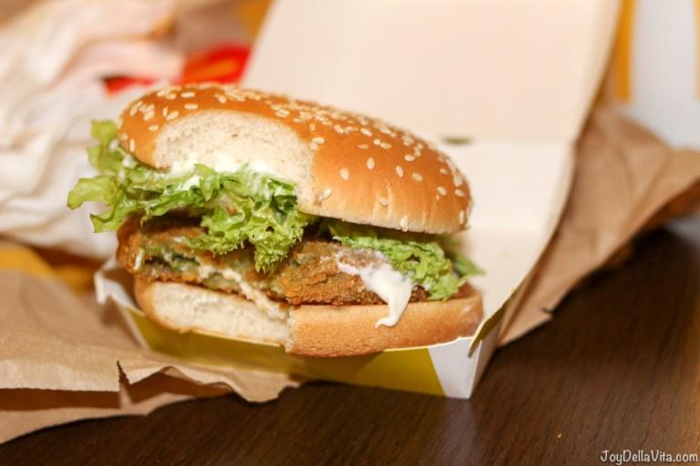 New McVeggie Burger by McDonalds Italy (2017)