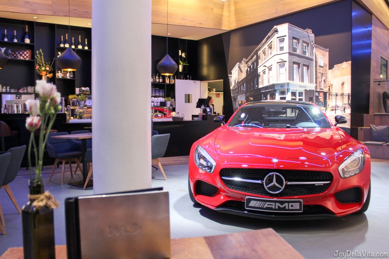 red Mercedes-AMG GT Hamburg me Store JoyDellaVita