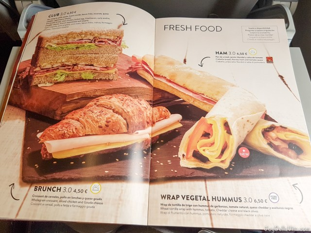 Vueling Fresh Food JoyDellaVita