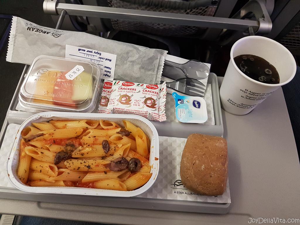 Aegean Airlines Special Meal Vegetarian Ovo Lacto JoyDellaVita
