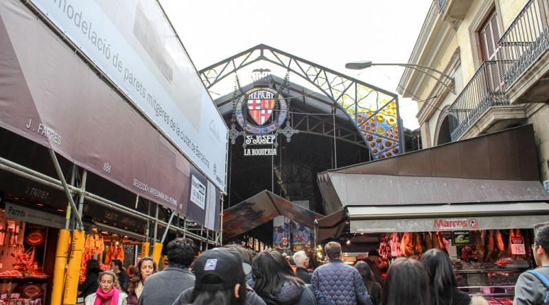Mercado de La Boqueria Market Rambla Barcelona