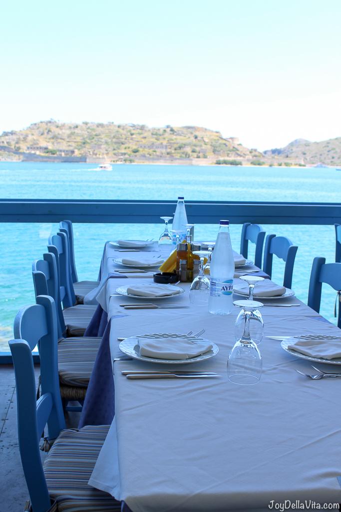 Restaurant Giorgos Tavern Plaka Crete -  Travelblog JoyDellaVita.com