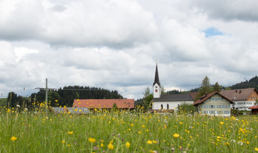 The Bavarian Allgäu is already existing for 1200 Years, and this village is the origin