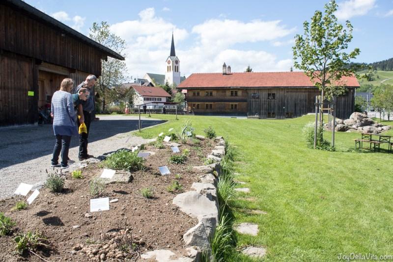 herb garden local history museum Oberstaufen Allgäu - JoyDellaVita.com