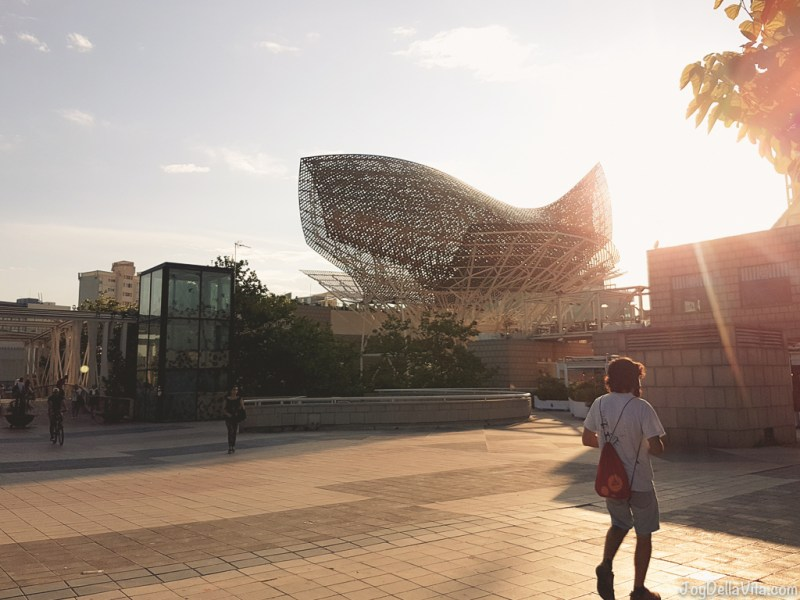 Balena in bronzo di Frank Gehry - Passeig Marítim, 53, 08003 Barcelona, Spain - JoyDellaVita.com