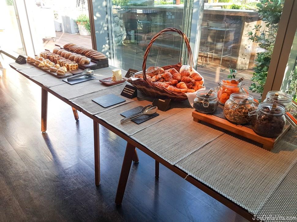 Breakfast W Hotel Barcelona BRAVO24 Restaurant -  JoyDellaVita.com