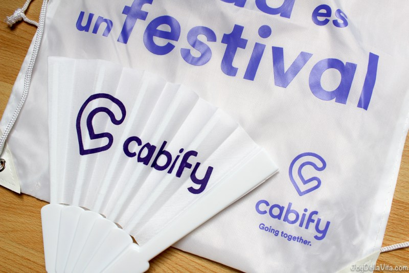 Discount Code during Primavera Sound for Cabify (Spanish UBER) in