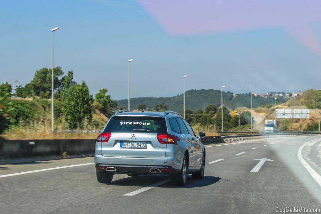 Roadtrip with the Firestone Roadhawk -  Firestone Roadhawk Tire Barcelona - Travel blog JoyDellaVita.com