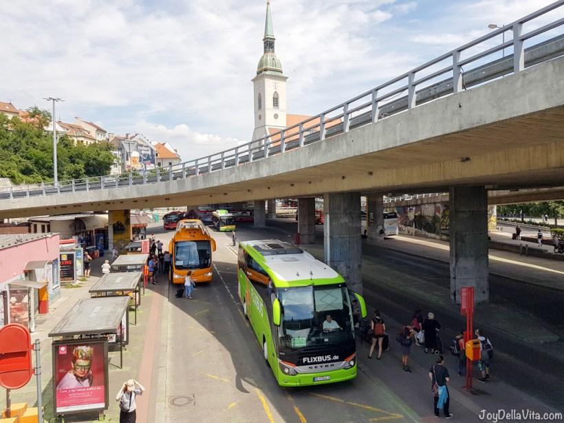 FlixBus Vienna Bratislava - JoyDellaVita.com