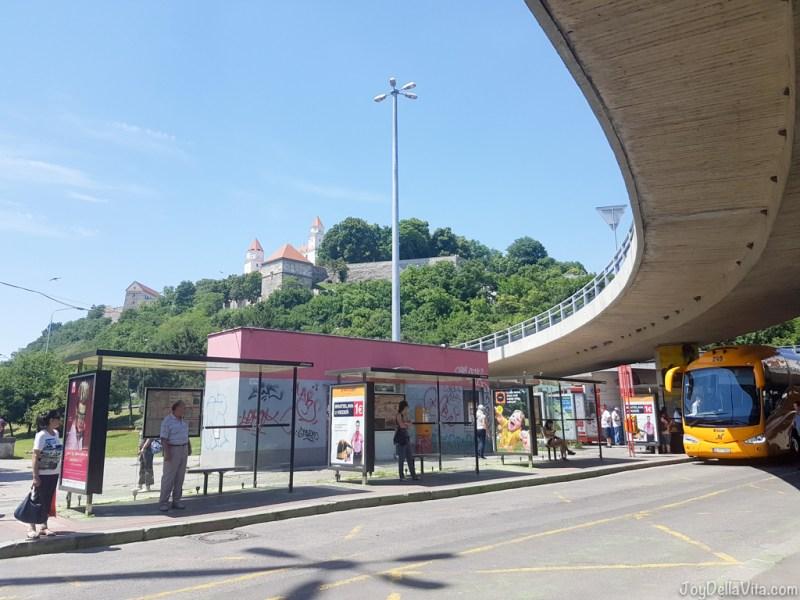 Bratislava Bus Station (Novy Most) FlixBus Vienna Bratislava - JoyDellaVita.com