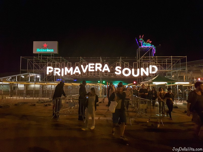 Primavera Sound 2017 Barcelona Firestone Music Tour - JoyDellaVita.com