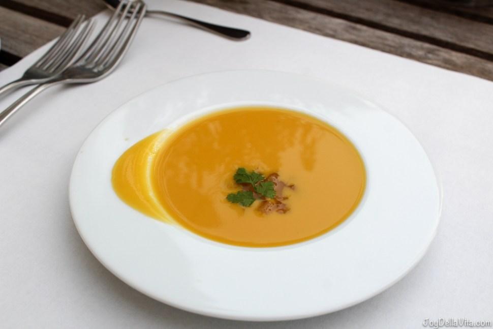 vegetable Soup - Greeting from the kitchen -- Organic Restaurant Castle Wartegg Lake Constance St Gallen - JoyDellaVita.com