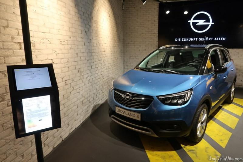 Opel Crossland X at cayu Store at Milaneo Stuttgart