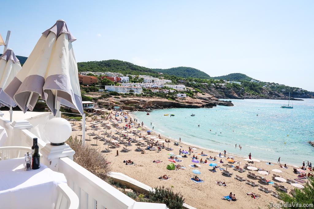 Cotton Beach Club Ibiza Restaurant Lunch Joy Della Vita Travelblog