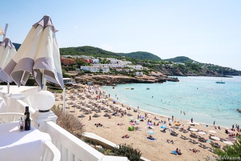 Lunch at Cotton Beach Club Restaurant Ibiza