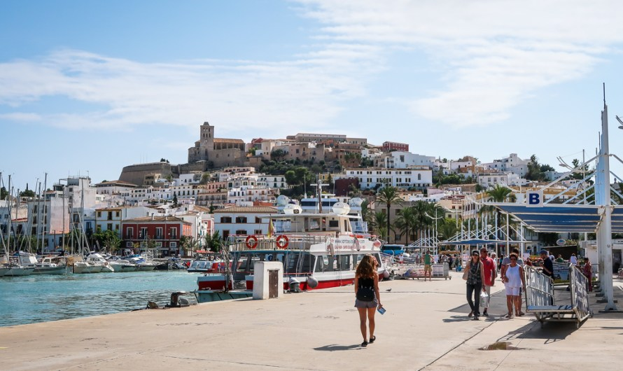 Picture Diary: Ibiza Port d'Eivissa in the afternoon in September