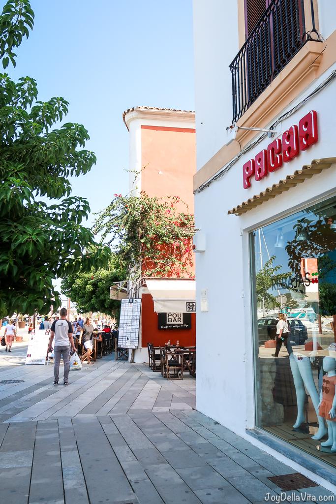 Shopping at Pacha Ibiza