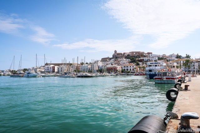 Photo Sightseeing Walk at the Harbor of Ibiza (where the ferries depart)