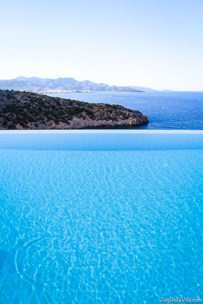 infinity pool daios cove the mansion luxury villa resort crete greece travelbl