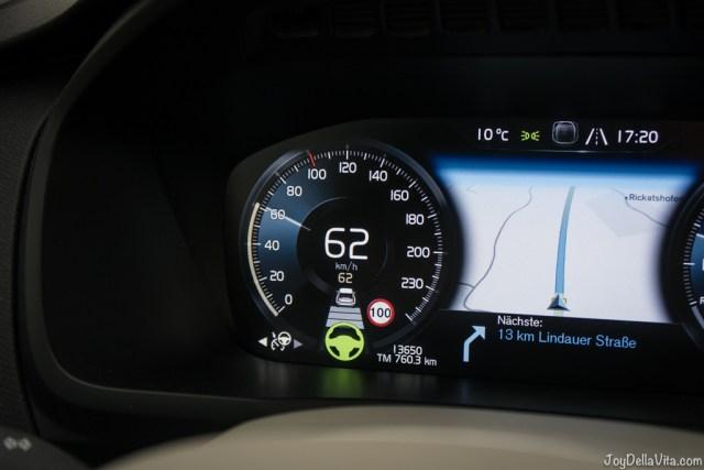 "Volvo City Pilot drives ""ALMOST"" autonomous - volvo xc90 alpine adventure travel blog joydellavita"