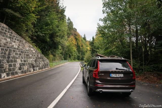 quick alpine adventure with a volvo xc90 in vorarlberg, austria