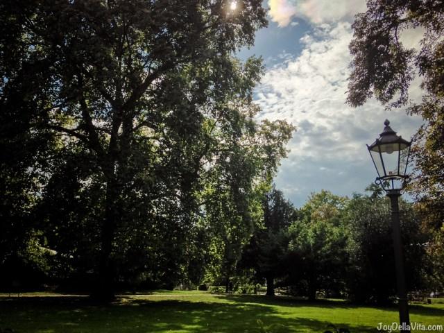 View from Rizzi Restaurant Baden-Baden